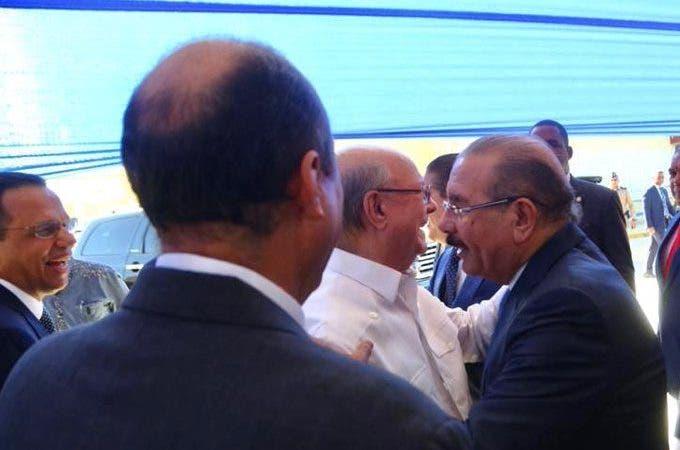 Danilo Medina y Hipólito Mejía/Roberto Rodríguez Marchena-Twitter