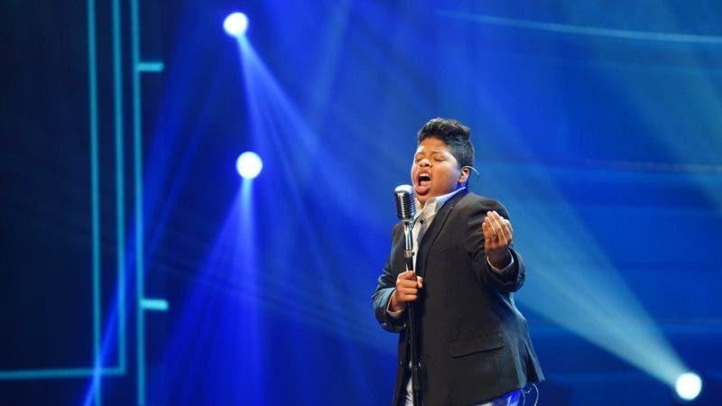 Babyrotty durante su presentación Dominicana's Got Talent