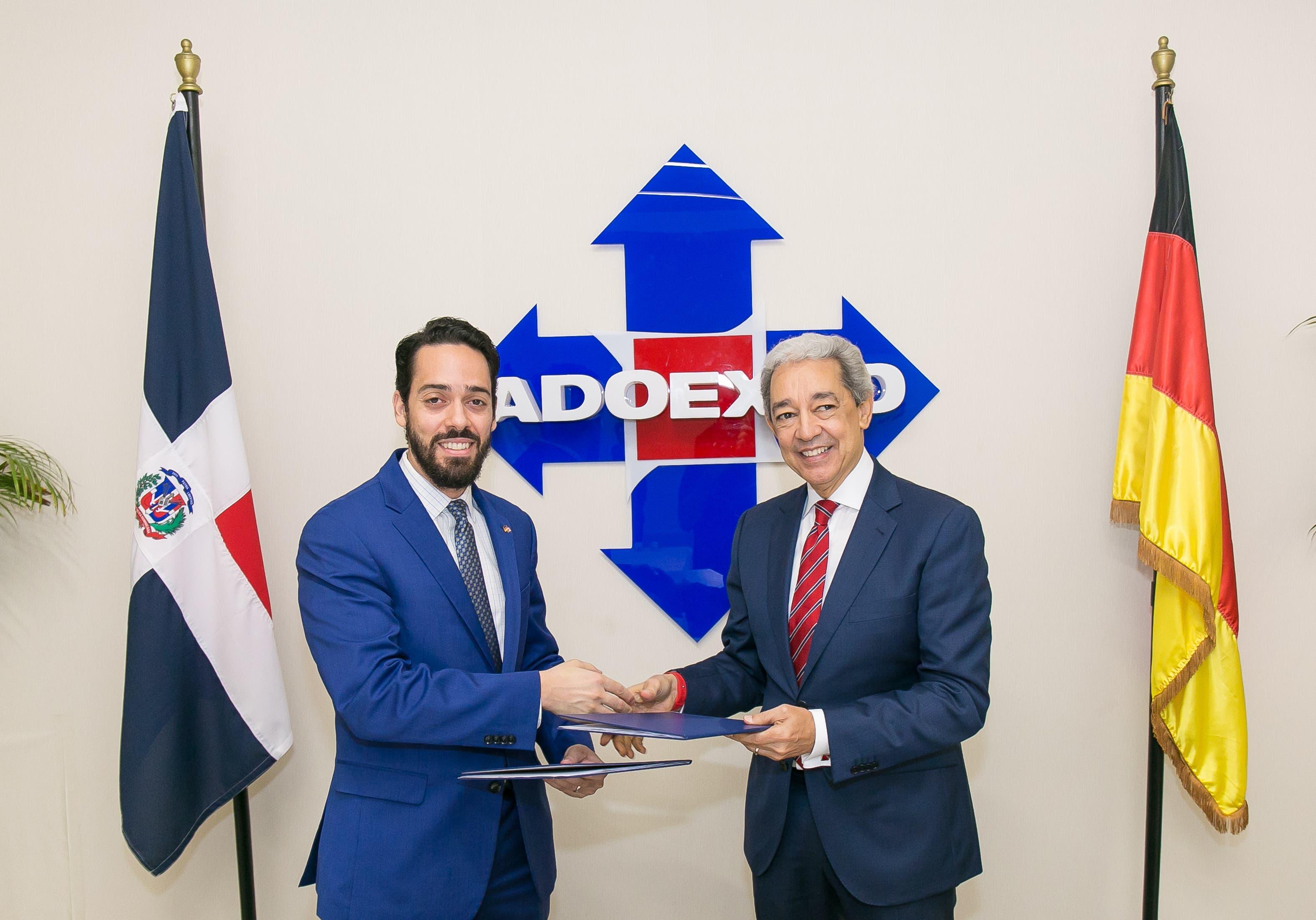 Adoexpo y CC-DA promoverán comercio y exportación entre Alemania y RD