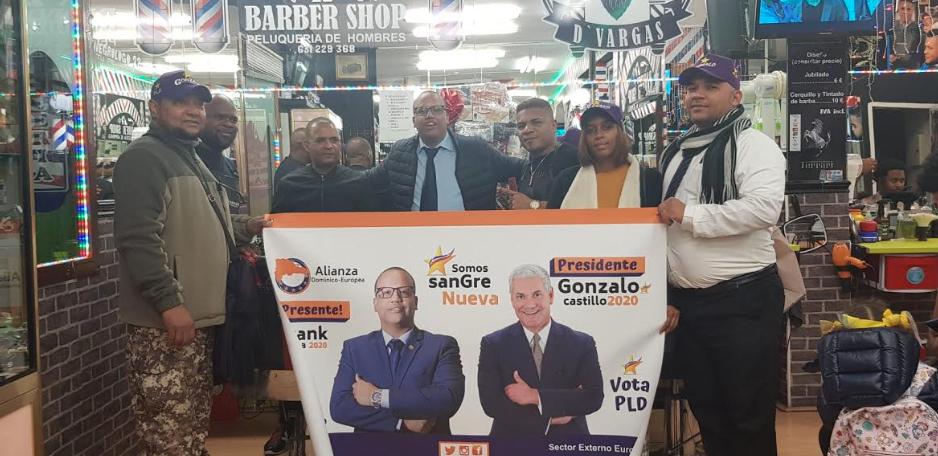 Madrid: Comerciantes dominicanos en Tetuán apoyan a Frank Segura para diputado de Ultramar