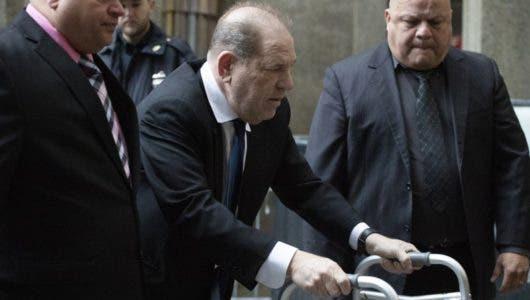 Aumentan de 1 a 5 millones de dólares la fianza de Harvey Weinstein  tras violar las condiciones de su libertad vigilada