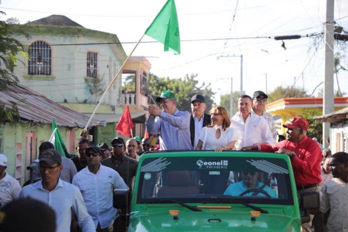 Leonel encabezará caravana este domingo en GSD, SDE y SDO en apoyo a candidatos municipales