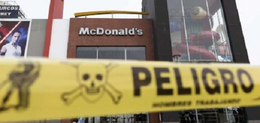 Cierran todos los establecimientos de McDonald's en Perú por muerte de dos empleados