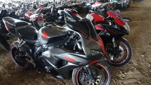DIGESETT retiene al menos 30 motocicletas de alto cilindraje