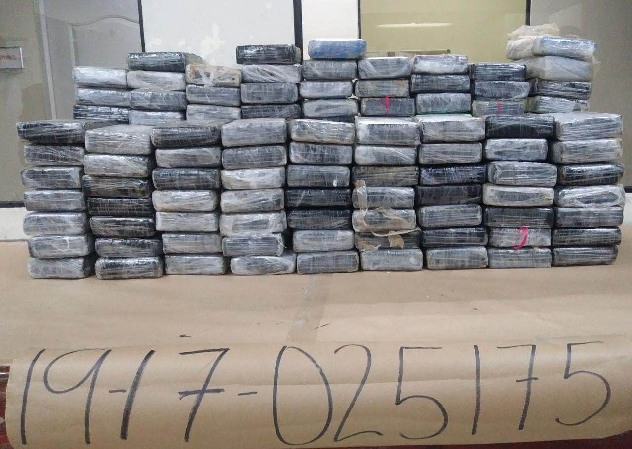 Incautan más de 162 kilos de cocaínas en playa Los Muertos en Peravia
