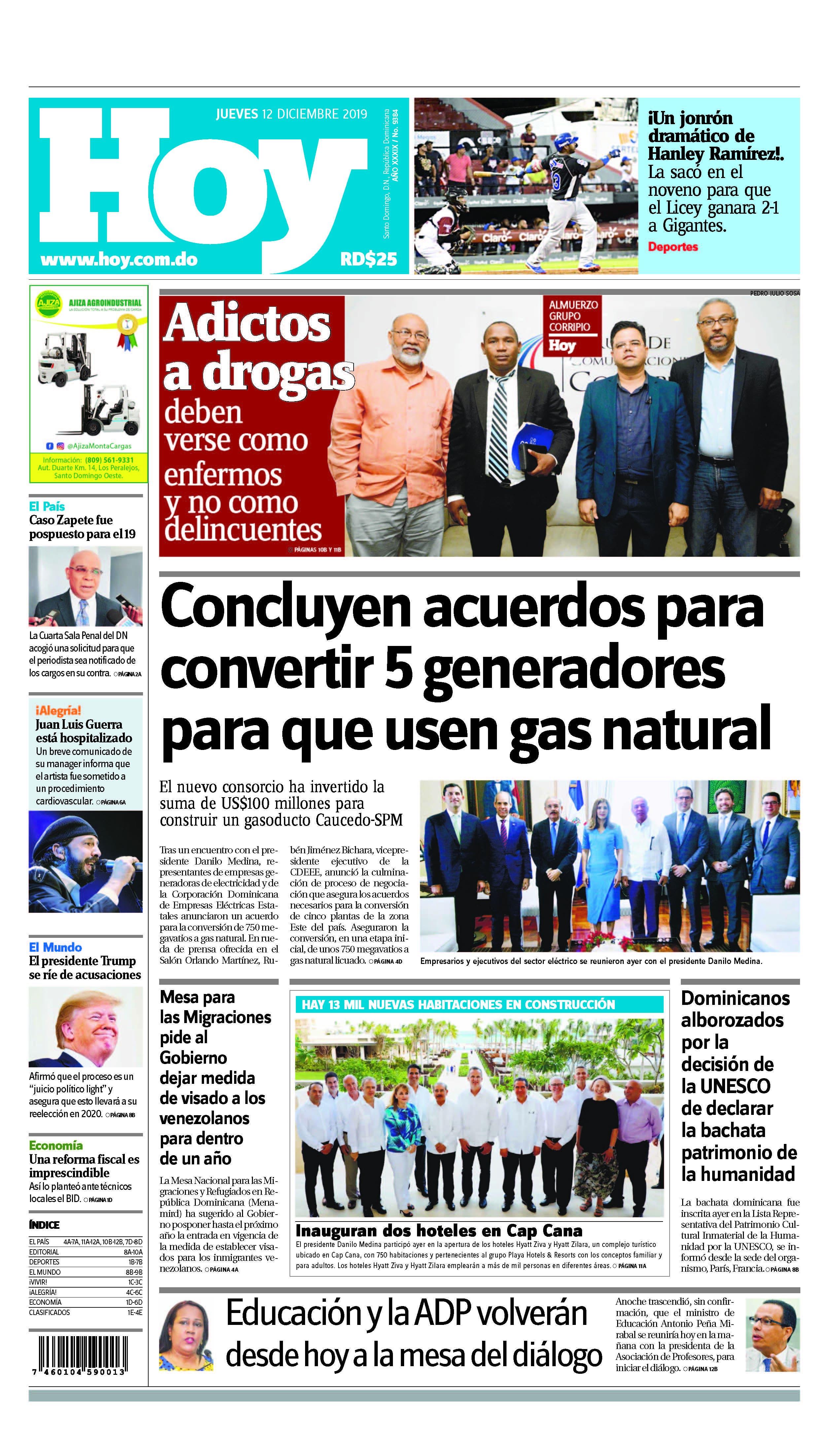 Pages from Edición impresa HOY jueves 12 de diciembre del 2019