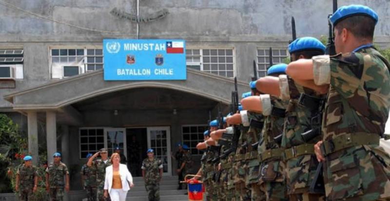 Abusos sexuales de militares chilenos en Haití: Diputados anuncian Comisión Investigadora