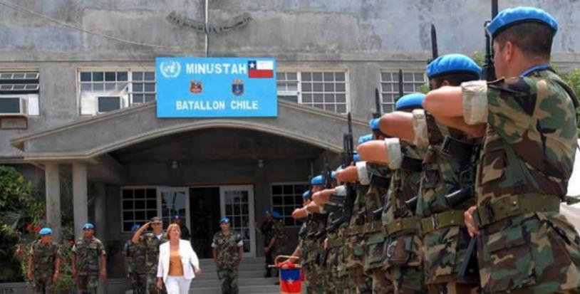 Violación y abuso sexual en Haití: Soldados chilenos son responsables del 20% de casos