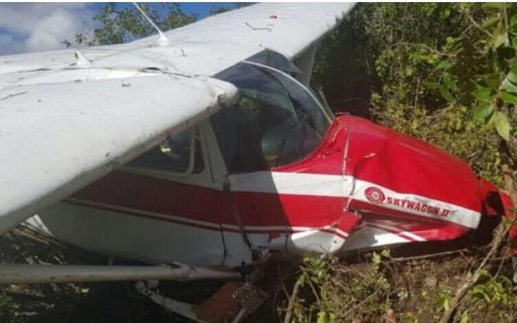 Cae aeronave con dos personas en la comunidad rural de Tamayo