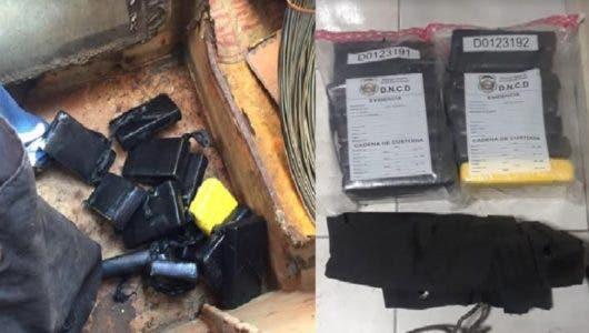 Lo que pasó con hombre trató de sacar 13 paquetes de cocaína en el Muelle de Haina Oriental