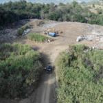 Vertedero en Jarabacoa