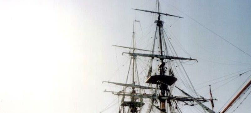 """Réplica del velero """"Endeavour"""" utilizado por el capitán británico, James Cook, para circunnavegar el Océano Pacífico. EFE/Cristobal García/Archivo"""