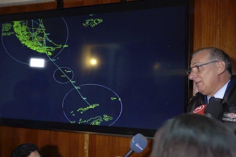 Desaparece un avión de la Fuerza Aérea chilena con 38 personas a bordo