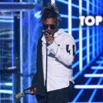 El rapero Juice WRLD en los premios Billboard Music Awards en Las Vegas, el 1 de mayo del 2019.  (Photo by Chris Pizzello/Invision/AP, File)