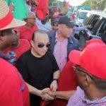 (foto) Quique Antún en una de las actividades en apoyo a los candidatos a cargos municipales para las elecciones de febrero próximo