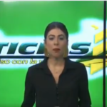 Conductora del noticiario