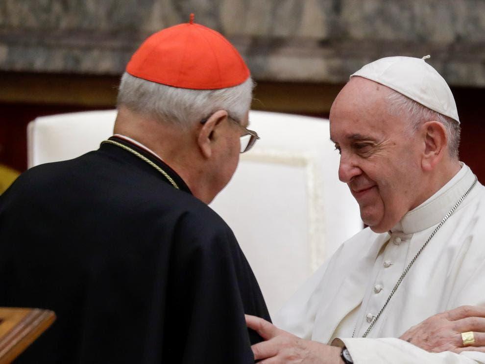 Papa Francisco acepta renuncia del cardenal decano Sodano y elimina cargo vitalicio