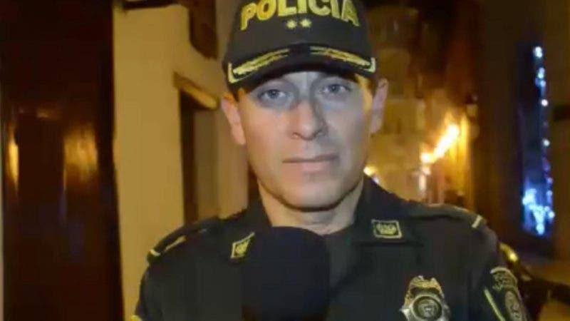 General Henry Sanabria, comandante de la Policía en Cartagena/Fuente Telesistema
