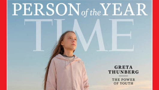 """Greta Thunberg fue elegida """"persona del año"""" por la revista Time"""