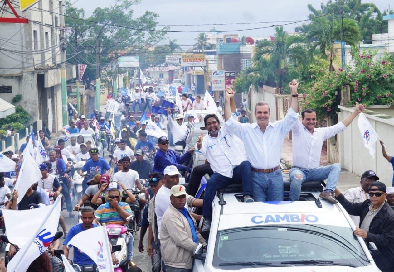Candidato a senador por La Romana recibe en su residencia a Luis Abinader
