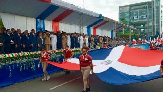 Fotos: Con desfile cívico militar conmemoran natalicio de Juan Pablo Duarte