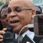 Marino Zapete después de la salida Palacio de Justicia de Ciudad de Nueva, Santo Domingo Rep. Dominicana. 24 de enero de 2020. Foto Pedro Sosa