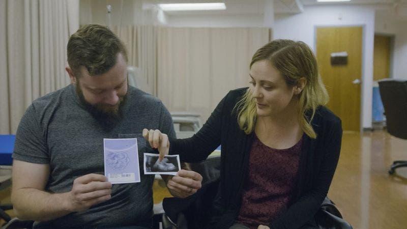 Quedarse embarazada parecía algo imposible para Jennifer, pero fue posible gracias a una donante.