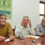Rueda de prensa  coalición para la de defensa de áreas protegidas, Domingo Abreu, Luis Carbajal, Milton Martinez, Kelvin Guerrero. Hoy/23-01-2020/Ana Mármol.