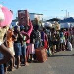 Dajabon. Reportaje sobre la frontera dominico-haitiana y el mercado binacional. El Cuerpo Especializado en Seguridad Fronteriza Terrestre (CESFRONT). El Nacional/ Jorge Gonzalez