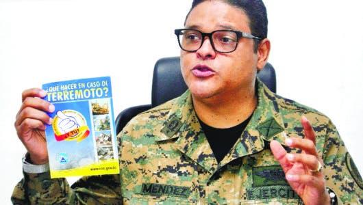 RD toma la delantera El COE tiene listo  Plan Nacional de  Emergencia del país