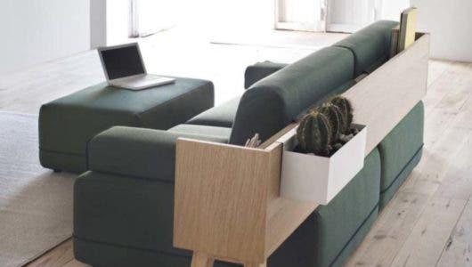 Muebles inteligentes para ahorrar espacios