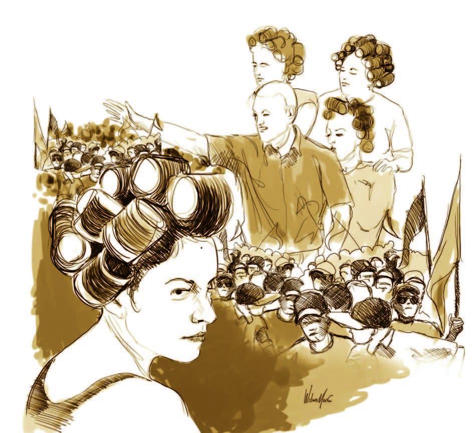 Mujeres en rolos: machismo rampante del PLD