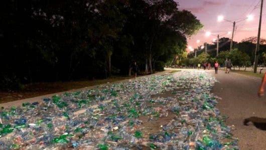Un experimento para llamar atención sobre el plástico