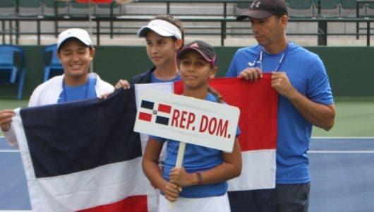 Elmúdesi y Gell de RD campeonas en el torneo World Junior Tennis (WJT) en el PE