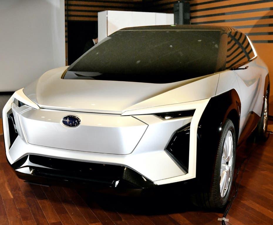 Un SUV Subaru totalmente eléctrico