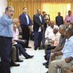 El presidente Danilo Medina realiza visita sorpresa a Hato Mayor. Hoy/ Fuente externa 02/11/2014