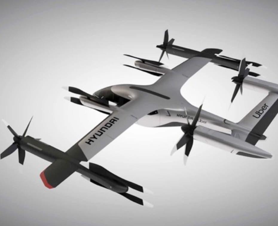 Hyundai y Uber presentan un taxi volador