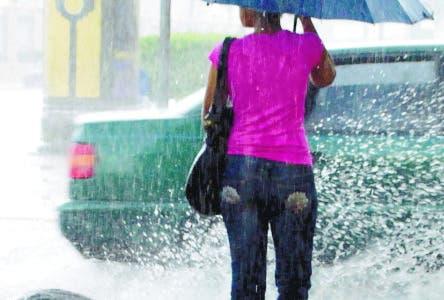 Lluvias seguirán hasta mañana por sistema frontal