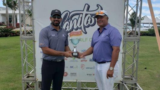 Silfa logra sexta parada del tour Canita de golf