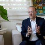 Ulises Rodríguez candidato alcalde por el PRM en Santiago. Hoy Wilson Aracena