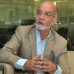 Entrevista al Sr. Daniel Pou ,experto en seguridad , La entrevista fue  realizada en la sede del periódico Hoy. Arlenis Castillo/24/09/19.