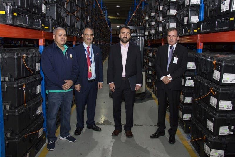 OEA inspecciona almacén de equipos de Voto Automatizado