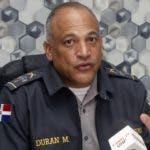 El vocero de la policía declaro que fueron apresado los delincuentes que atracaron al pelotero, y también al ex pareja que mato a su esposa en Sampedro, fue capturado en dajabón , en foto : Frank Feliz Duran HOY Duany Nuñez 10-1-2020