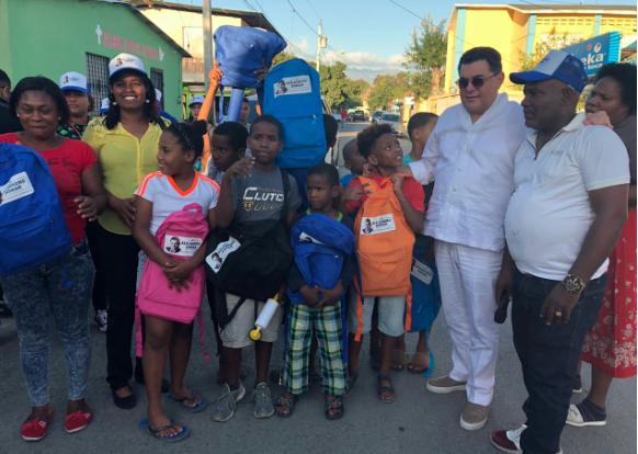 Fundación Alejandro Asmar lleva operativo médico y de fumigación a San Juan