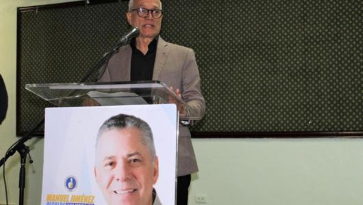 Andrés L. Mateo respalda candidatura a alcalde de Manuel Jiménez