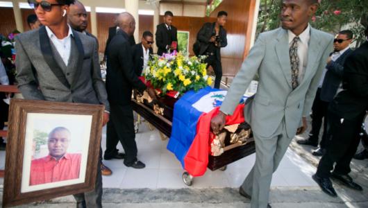Así despidieron en Haití a Charlot Jeudy, el más famoso defensor del colectivo LGBTI