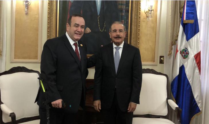 Danilo Medina viajará a Guatemala a toma de posesión de Alejandro Giammattei