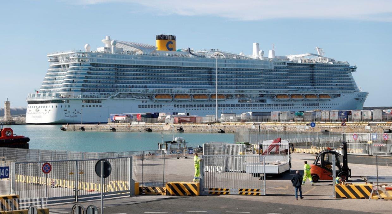 Caso coronavirus: Impiden desembarco de crucero en Italia procedente de España