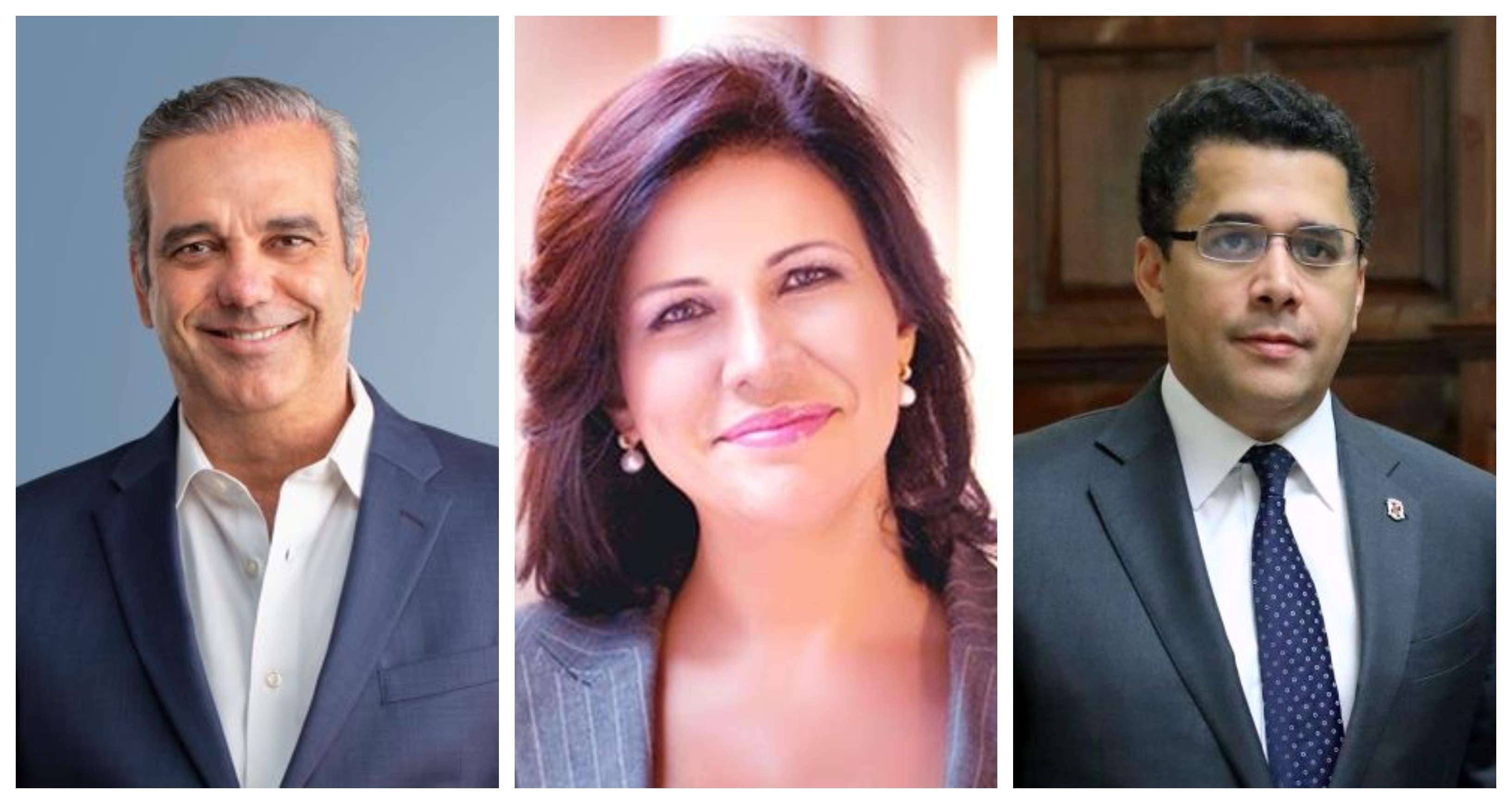 Encuesta Mark Penn/Stagwell: Solo Luis Abinader, David Collado y Margarita Cedeño tienen favorabilidad neta positiva