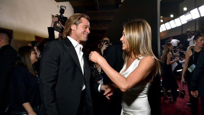 Fotos: El reencuentro entre Jennifer Aniston y Brad Pitt durante los premios SAG Awards